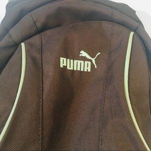 72ae309f5b6 Puma Bags   Mini Backpack Brown Green   Poshmark